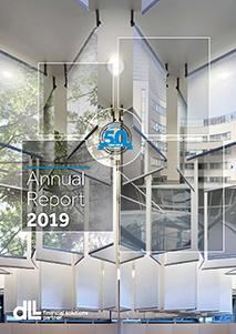 Cover of annual report 2019